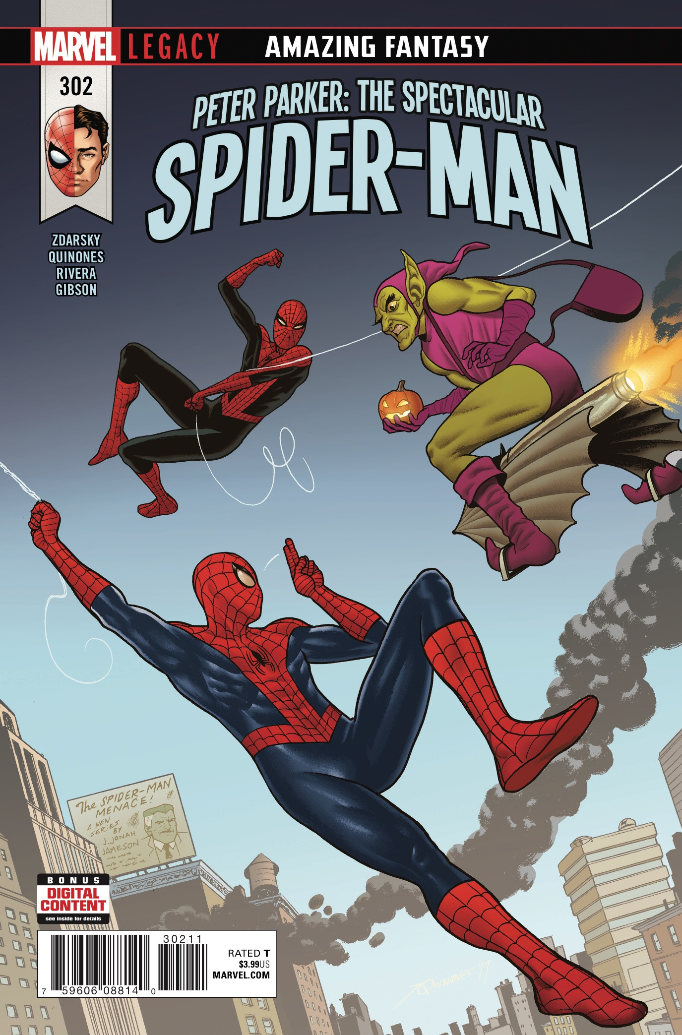 Image result for PETER PARKER: THE SPECTACULAR SPIDER-MAN #302