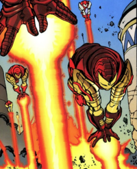 Repulsor-Troopers (Earth-9812) from Avengers Forever Vol 1 1 001
