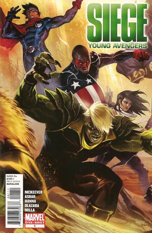 Siege Young Avengers Vol 1 1