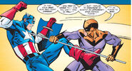 Steven Rogers and Georges Batroc (Earth-616) from Captain America Vol 3 4 0001
