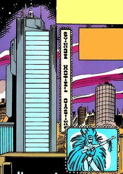 Synge Hotel and Casino X-Men 2099 Vol 1 1