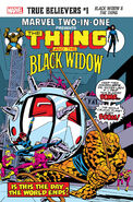 True Believers Black Widow & the Thing Vol 1 1