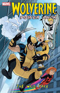 Wolverine and Power Pack TPB Vol 1 1 The Wild Pack
