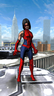 Ashley Barton (Earth-TRN508) from Spider-Man Unlimited (video game)