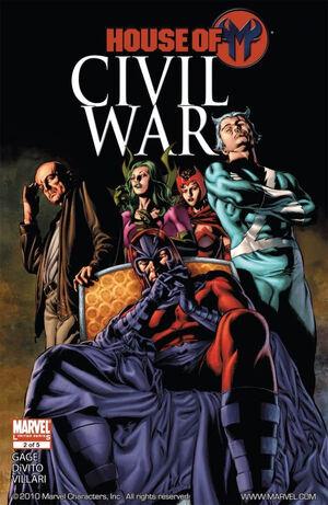 Civil War House of M Vol 1 2