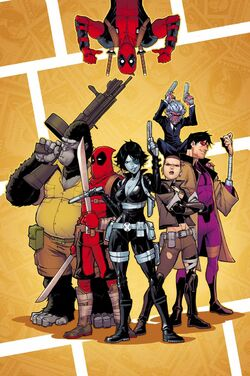 Deadpool & the Mercs for Money Vol 2 4 Textless