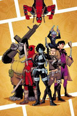 Deadpool & the Mercs for Money Vol 2 4 Textless