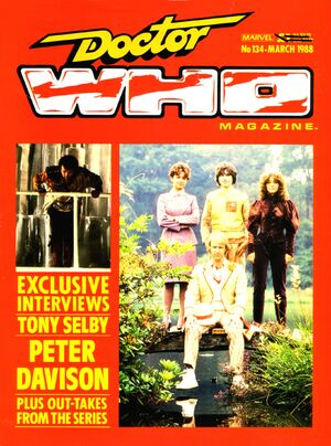 Doctor Who Magazine Vol 1 134
