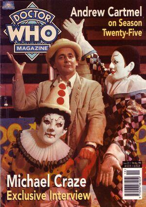 Doctor Who Magazine Vol 1 225