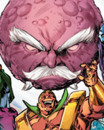 Ego (Stranger Planet) (Warp World) (Earth-616) from Secret Warps Iron Hammer Annual Vol 1 1 001