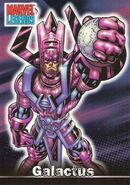 Galactus (Earth-616) from Marvel Legends (Trading Cards) 0001