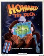 Howard the Duck Adventure on Volcano Island
