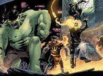 Infernal Four (Earth-91240) from Secret Wars Battleworld Vol 1 1 001