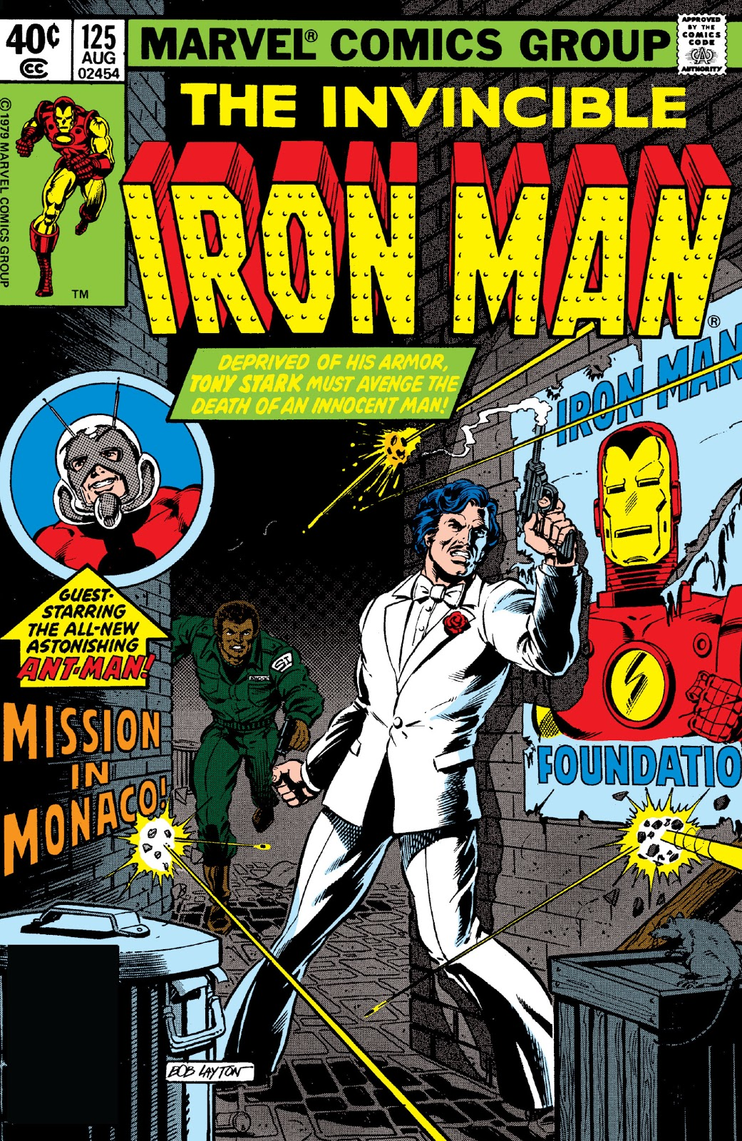 Iron man vol 1 125 marvel database fandom powered by wikia - Iron man 1 images ...