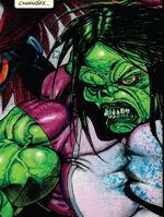 Jennifer Walters (Earth-11086) from Fear Itself Fearsome Four Vol 1 1 0001