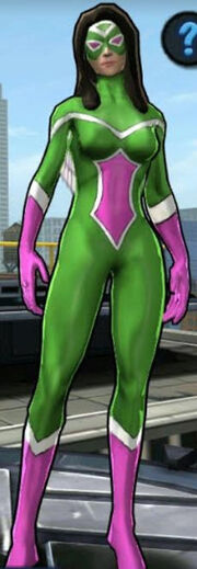 Jessica Drew (Earth X) from Spider-Man Unlimited (video game) 0001
