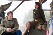 Margaret Carter (Earth-199999) and Steven Rogers (Earth-199999) from Captain America The First Avenger 0004