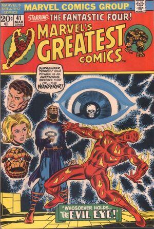 Marvel's Greatest Comics Vol 1 41