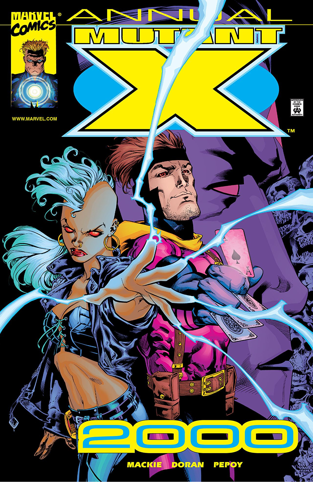 Image result for Mutant X  Annual 2000