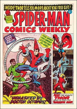 Spider-Man Comics Weekly Vol 1 4