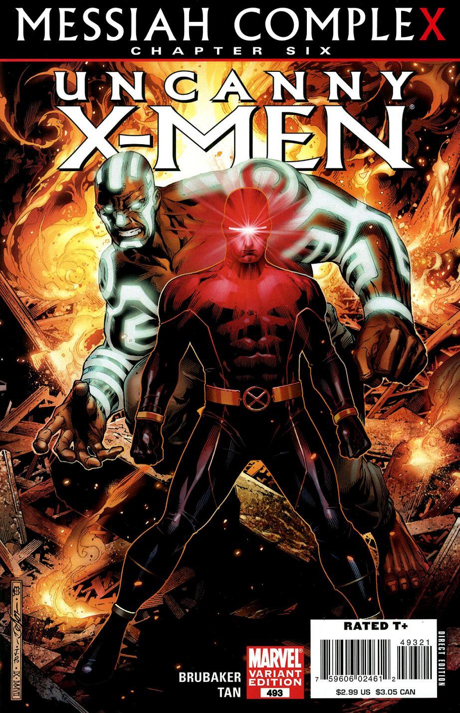 Uncanny X-Men Vol 1 493 - Marvel Database - FANDOM powered by WikiaUncanny X-Men Vol 1 493 - 웹