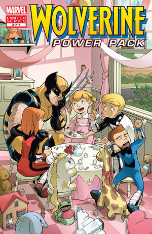 Wolverine and Power Pack Vol 1 2