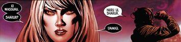 Yabbat Ummon Turru (Earth-1365) from New Avengers Vol 3 1 003
