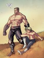 Ares and Alexander Aaron (Earth-616) from Secret Warriors Vol 1 22 0001