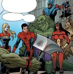 Avengers (Earth-19919) from Spider-Island Vol 1 5 0001