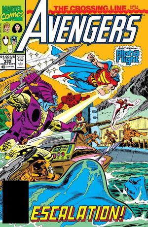 Avengers Vol 1 322