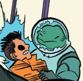 Claude (Humanimals) (Earth-616) and Ken Shiga (Earth-616) from Unbeatable Squirrel Girl Beats Up the Marvel Universe! Vol 1 1 001