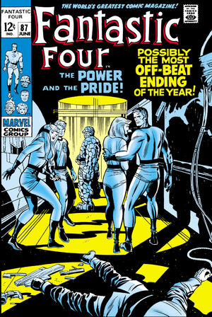 Fantastic Four Vol 1 87