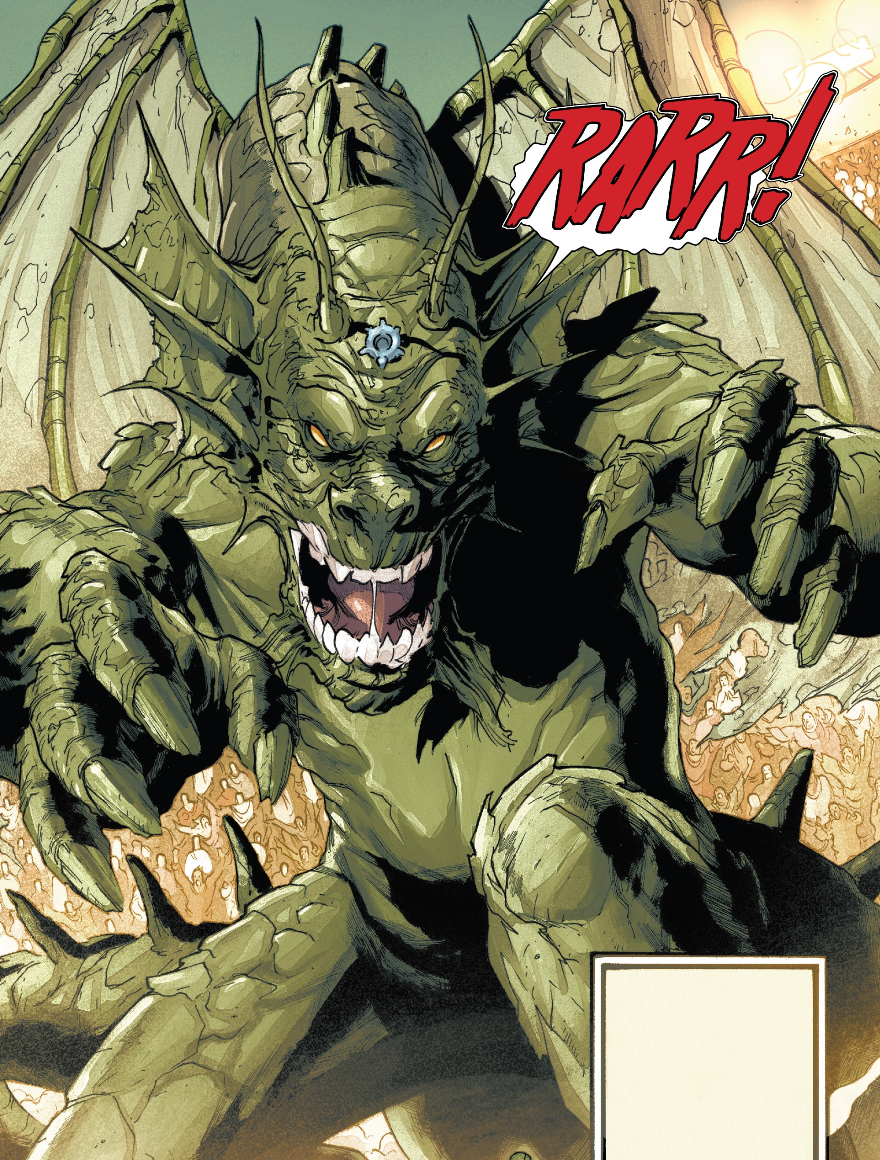 Fin Fang Foom (Earth-21923) | Marvel Database | Fandom