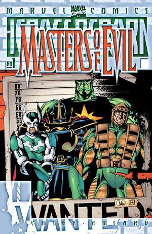 Heroes Reborn Masters of Evil Vol 1 1