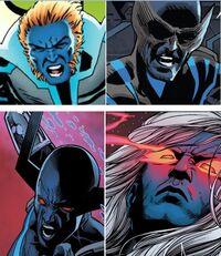 Horsemen of Apocalypse (Earth-13133) from Uncanny Avengers Vol 1 13 0001