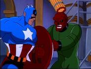 Johann Shmidt (Earth-92131) and Steven Rogers (Earth-92131) from X-Men The Animated Series Season 5 11 001