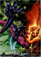 K'lrt (Earth-616) from Marvel Masterpieces Trading Cards 1992 0001