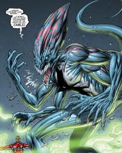 Skornn (Earth-616) from X-Force Vol 2 3 0001