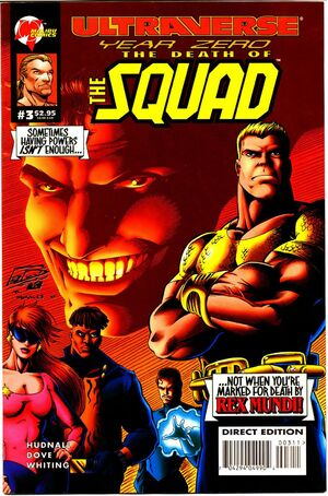 Ultraverse Year Zero The Death of the Squad Vol 1 3