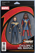 Champions Vol 2 3 Marvel NOW! Action Figure Variant