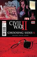 Civil War II Choosing Sides Vol 1 6