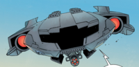 High-Speed Hover Jet from Civil War II Choosing Sides Vol 1 1 001