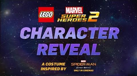 Homecoming Homemade Suit - LEGO Marvel Super Heroes 2 Game - Character Reveal