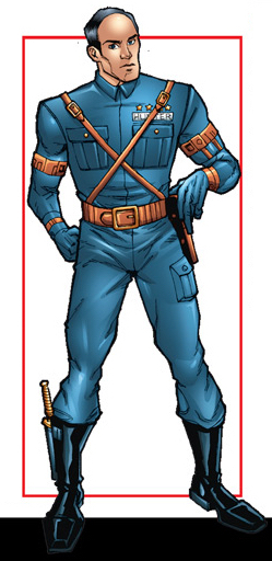 Lancelot Hunter (Earth-616) from Captain America Americas Avenger Vol 1 1 001