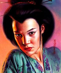 Mariko Yashida from Ultra X-Men Wolverine (Trading Cards) 001