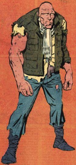 Mark Hallett (Earth-616) from Official Handbook of the Marvel Universe Vol 2 12