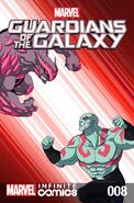Marvel Universe Guardians of the Galaxy Infinite Comic Vol 1 8