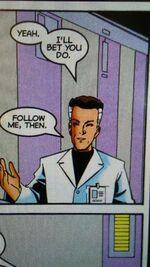 Reed Richards (Counter-Earth) (Earth-TRN583) from Spider-Man Unlimited Vol 2 3 001