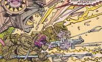 Shock Commandos (Earth-7642) from Uncanny X-Men and The New Teen Titans Vol 1 1 001