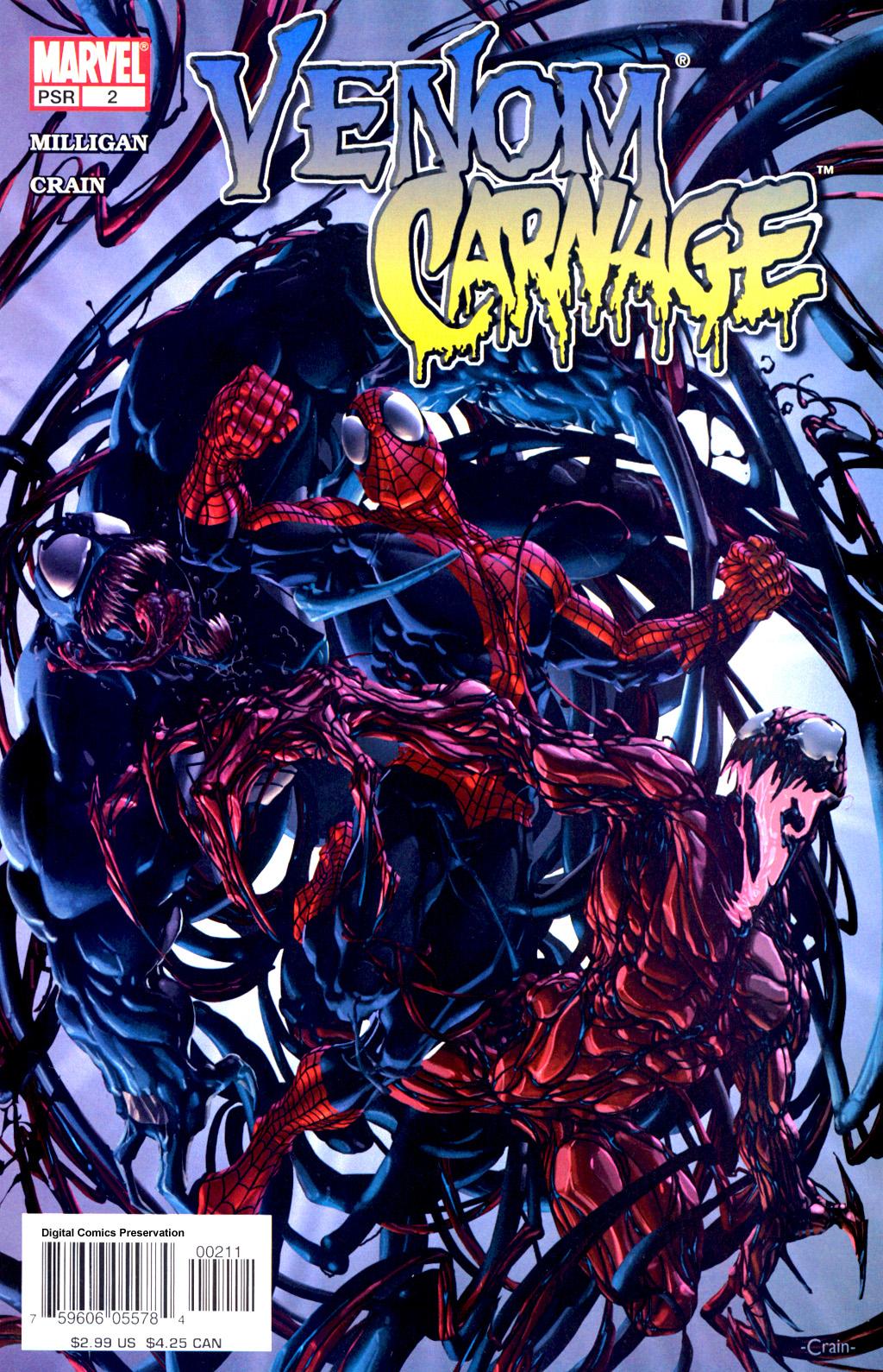 venom vs. carnage vol 1 2 | marvel database | fandom poweredwikia